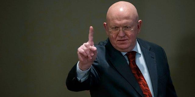 Russian Ambassador Vassily Nebenzia rebuked the U.S. for calling the session.