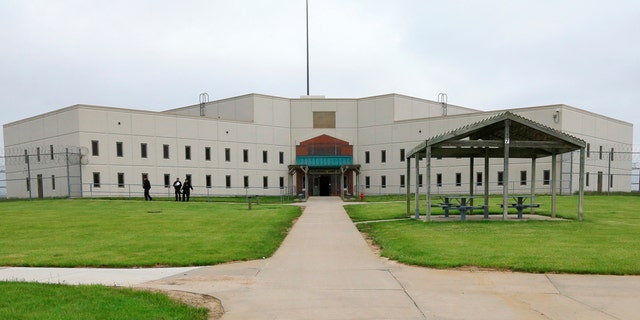 In this 2015 file photo, a housing unit is seen on the grounds of the Tecumseh State Correctional Institution during a media tour.