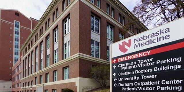 The Nebraska Medical Center in Omaha.