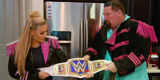 Neidhart appeared on 'Total Divas' with his daughter Natalya.