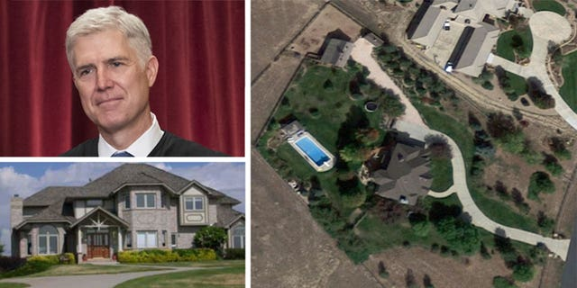 """Gorsuch's property is being marketed as a """"horse lover's paradise."""""""