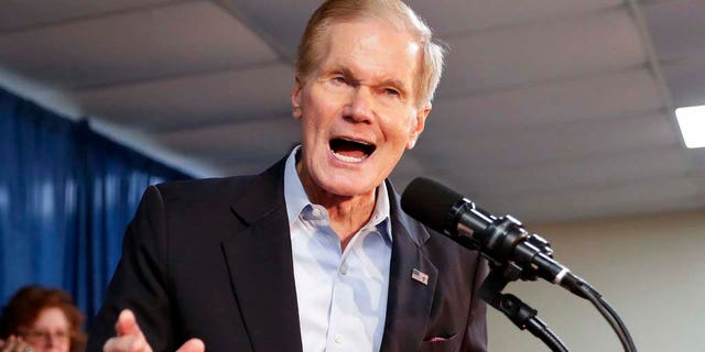Florida Sen. Bill Nelson was unseated by the state's outgoing two-term governor, Rick Scott.