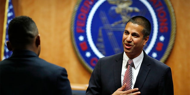 FCC Chairman Ajit Pai led the effort, as the Federal Communications Commission voted Thursday to repeal Obama-era net neutrality rules.