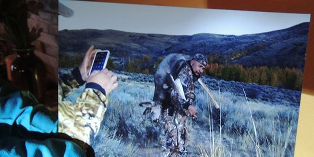 When authorities saw this photo on Facebook, they mounted a more than yearlong investigation that uncovered a poaching ring. (Nevada Department of Wildlife)