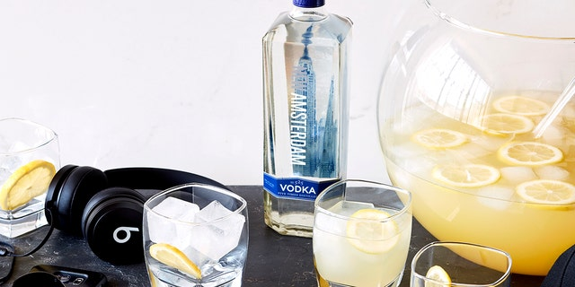 Make your holidays more adult with New Amsterdam's award-winning vodka.