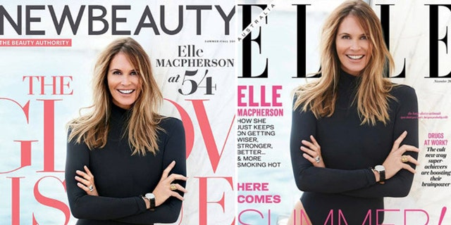 A 2016 photoshoot for the over of Elle Magazine featuring model Elle Macpherson has oddly resurfaced on the cover of New Beauty for this year.