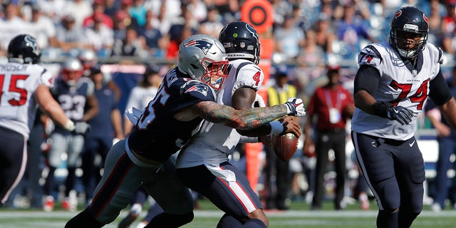 Cassius Marsh ripped the New England Patriots in an interview Saturday.
