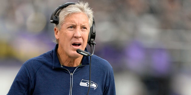 "Pete Carroll called reports of the Seahawks snubbing Kaepernick ""blown up."""