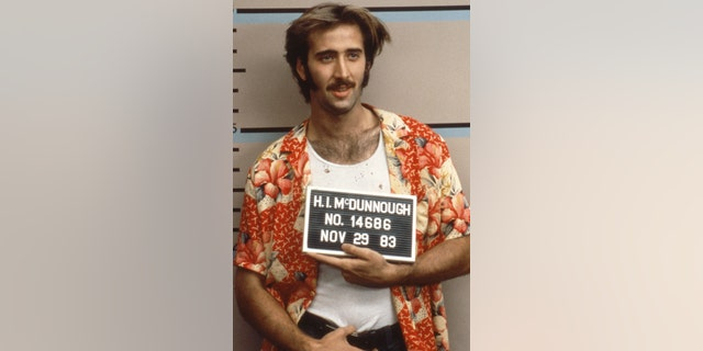 Cage in 'Raising Arizona'