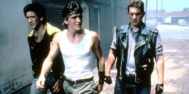 Nic Cage appeared in his uncle's film 'Rumble Fish'