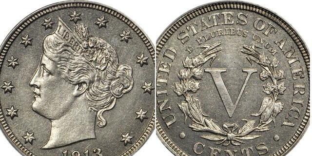 Eliasberg 1913 Liberty Head Nickel