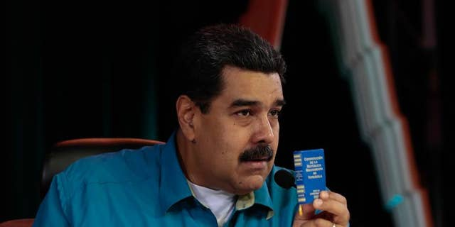 President of Venezuela Nicolas Maduro.