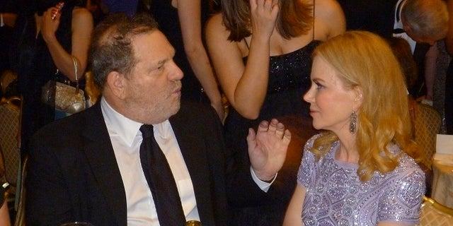 Harvey Weinstein and Nicole Kidman worked together.