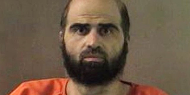 FILE: Former Army psychiatrist Maj. Nidal Hasan is shown in this undated file photo.