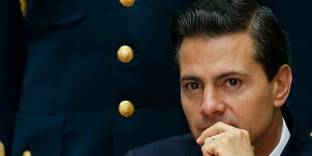 Mexico's President Enrique Pena Nieto said emergency workers were working to pull survivors from the rubble.