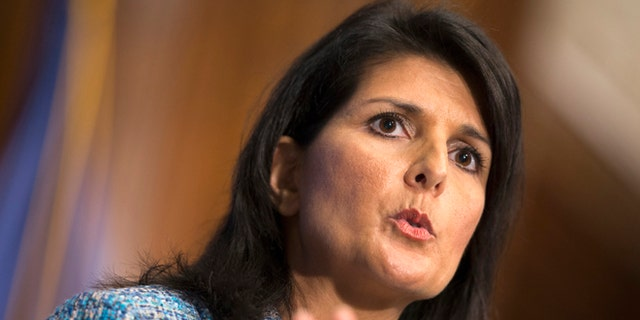 Sept. 2, 2015: South Carolina Gov. Nikki Haley will give the Republican response to President Obama's Jan. 12 State of the Union address.
