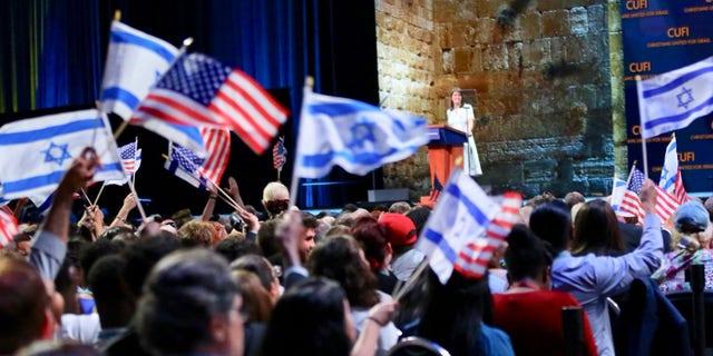 U.S. Ambassador to the U.N. Nikki Haley received the
