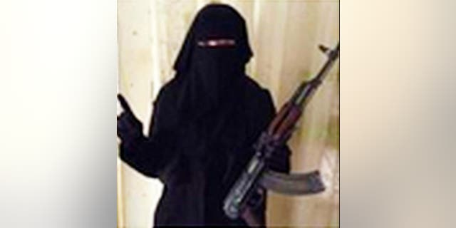 Sally Jones, a female foreigner who joined ISIS.