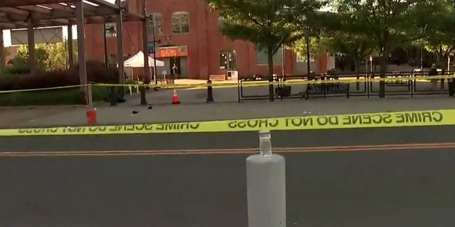 The shooting took place around  2:45 a.m. at the 24-hour Art All Night show in the Roebling Market section of Trenton, New Jersey.