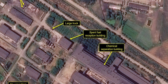 """""""Modifications to North Korea's 5 MWe reactor's secondary cooling loop, which began in March, appear externally complete,"""" according to the report."""