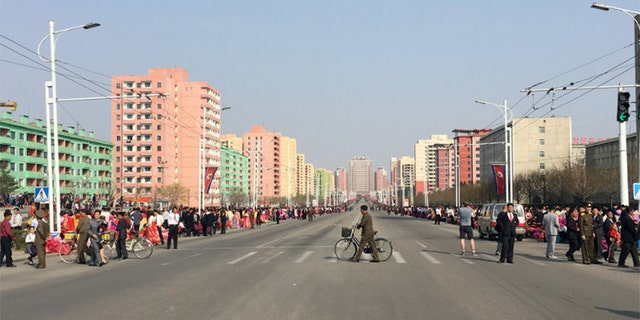 North Korea: Day of the Sun parade