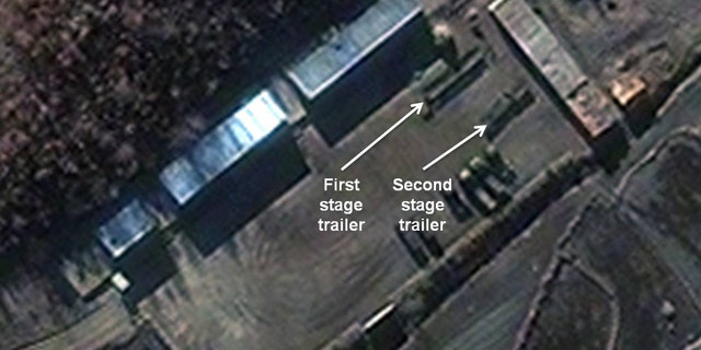 Nov. 26, 2012: A satellite image provided by DigitalGlobe shows the Sohae Satellite Launch Station in Cholsan County, North Pyongan Province, North Korea.