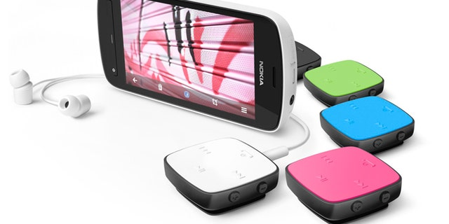The Nokia PureView 808 smartphone, a new phone from the Finnish company that boasts a staggering, 41-megapixel digital camera.