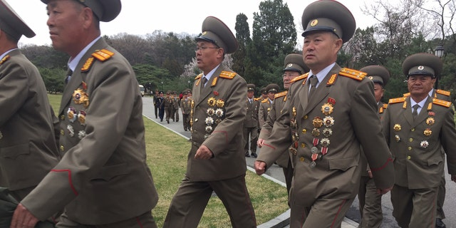 Pyongyang on April 14 at the birthplace of former Prime Minister Kim il Sung.