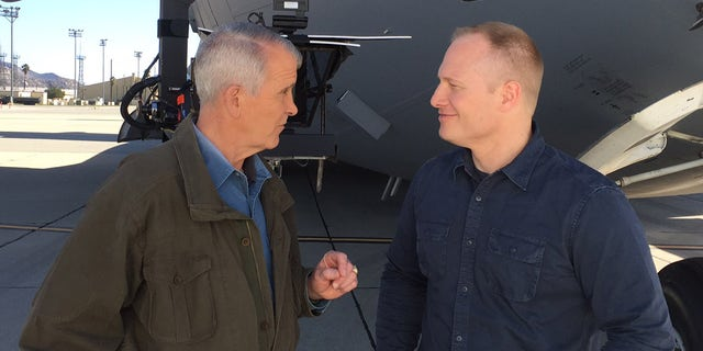 "North, (l.), and Babin, (r.), look at the fight against ISIS from every angle in ""War Stories: Fighting ISIS."""