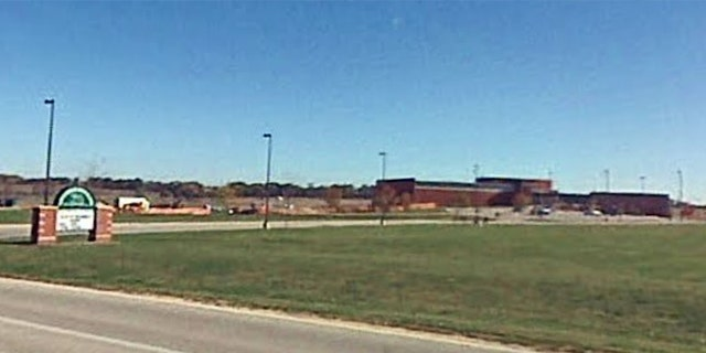 A high school in Poplar Grove, Illinois.