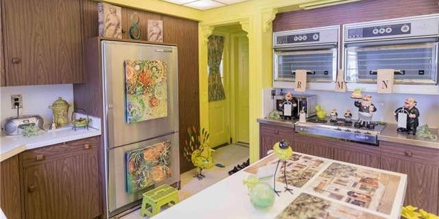 The listing boasts that the home comes with 1950s Frigidaire appliances.