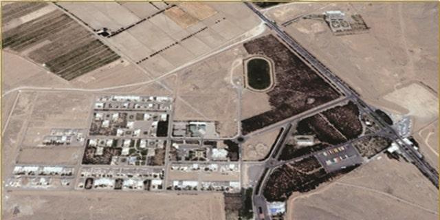 Hafte Tir military Complex near Isfahan