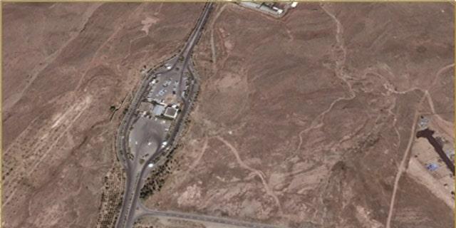 Parking entrance for Nouri Industry