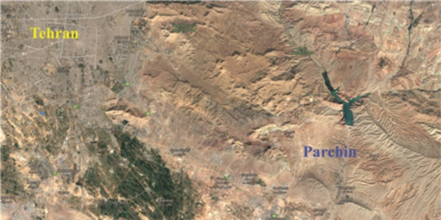 Parchin Military Complex at South East Tehran