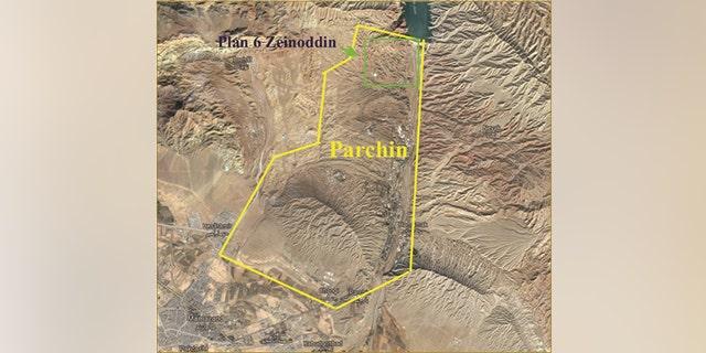 Plan 6 Zeinoddin in Parchin military complex