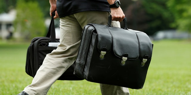 The nuclear football, an attractive target for hackers.