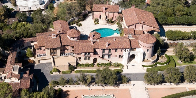 Pictured is the convent that Katy Perry has set out to purchase.