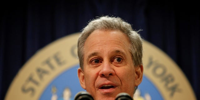 FILE - New York Attorney General Eric Schneiderman resigned following allegations of sexual misconduct.
