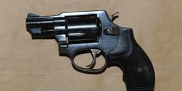 A .38 caliber Taurus revolver recovered in connection with a double homicide in Queens.