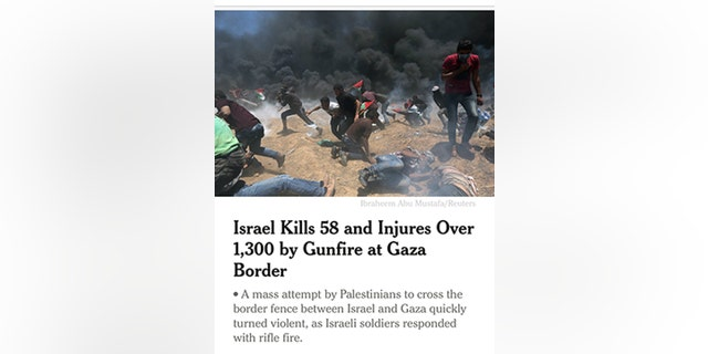 The New York Times faced new accusations of anti-Israel bias over its coverage of the Middle East on Monday.