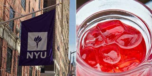 NYU and Aramark dining services have apologized for the menu, which included Kool-Aid and watermelon-flavored water.