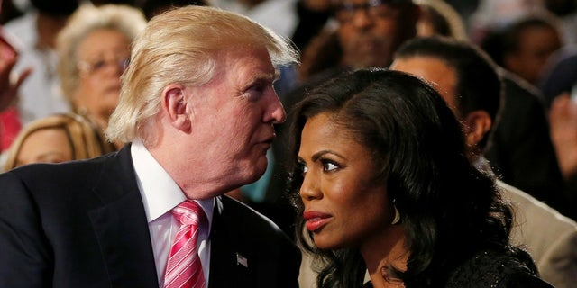 "Omarosa and President Trump met in 2004 during the first season of NBC's ""The Apprentice."""