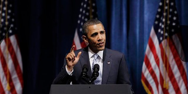 President Obama speaks at the Austin City Limits Live at the Moody Theater May 10 in Austin, Texas.