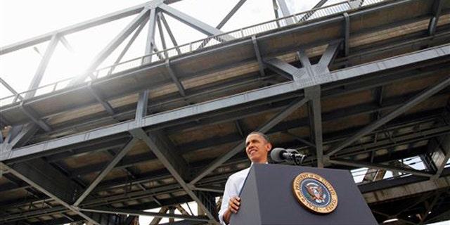 Thursday: President Obama speaks at the Brent Spence Bridge regarding his American Jobs Act legislation in Cincinnati, Ohio.