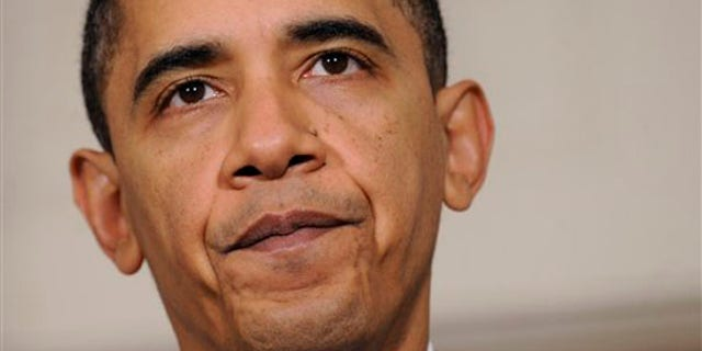 President Obama is shown here after talking about the economy Dec. 14 at the White House in Washington. (AP Photo)