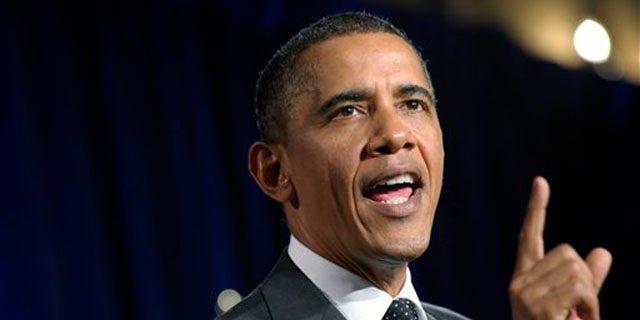 President Obama speaks at a fundraiser in New York City Sept. 22. (AP Photo)