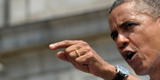 FILE: July 6, 2012: President Obama speaks at Carnegie Mellon University in Pittsburgh, Pa.