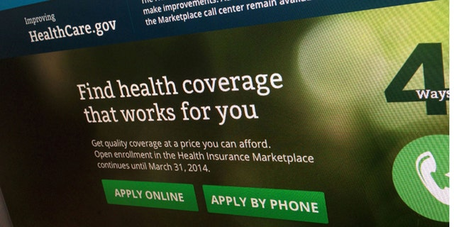 Nov. 29, 2013: Shows a part of the HealthCare.gov website, photographed in Washington.