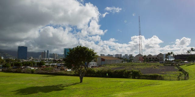 One possible location in the Kakaako district of Honolulu to be considered for the Barack Obama Presidential Library.