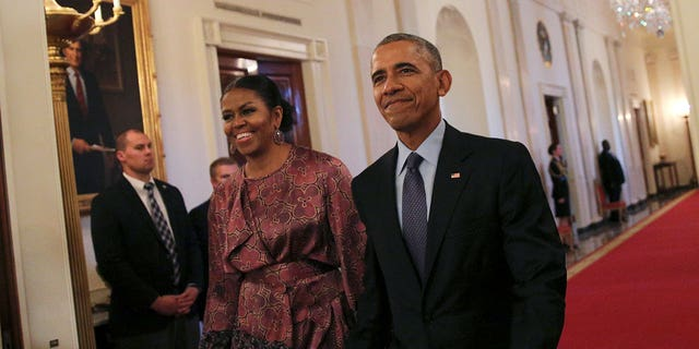 The Obamas have been looking at 10 Gracie Square on the Upper East Side, sources say.